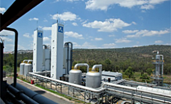 Callide air separation units in the oxygen plant